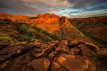 Kings Canyon in Australien