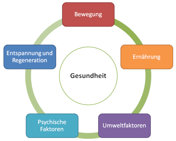 Salutogenese-Modell