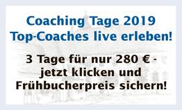 Coaching Tage 2019