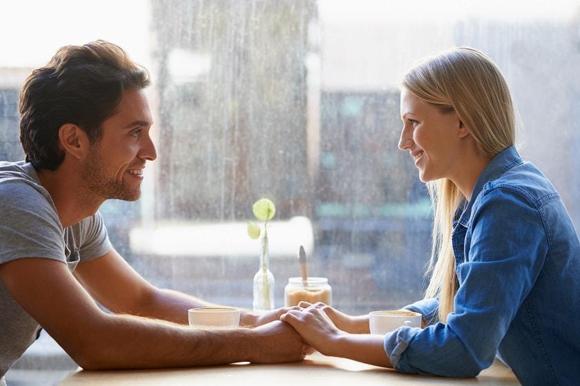 Verlieben zwischen Mann und Frau