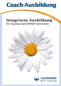 Broschüre zur NLP Coach Ausbildung nach DVNLP