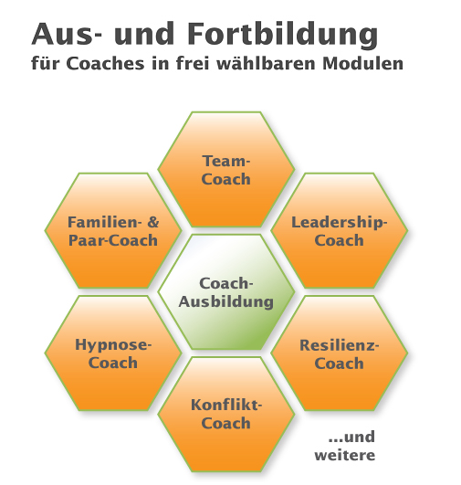 Coaching-Ausbildung in Modulen
