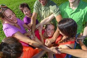 Teambuilding Gruppe