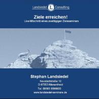 CD-Cover: Ziele erreichen!
