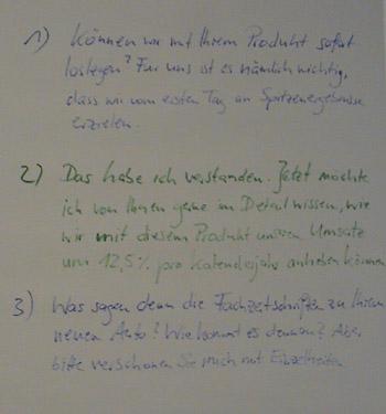Flipchart Metaprogramme 27