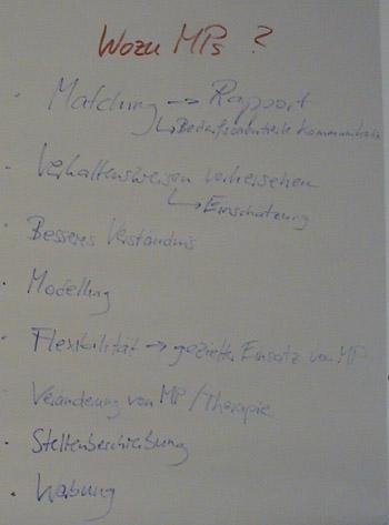 Flipchart Metaprogramme 28
