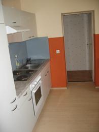 Ausschnitt der Küche im Erdgeschoss