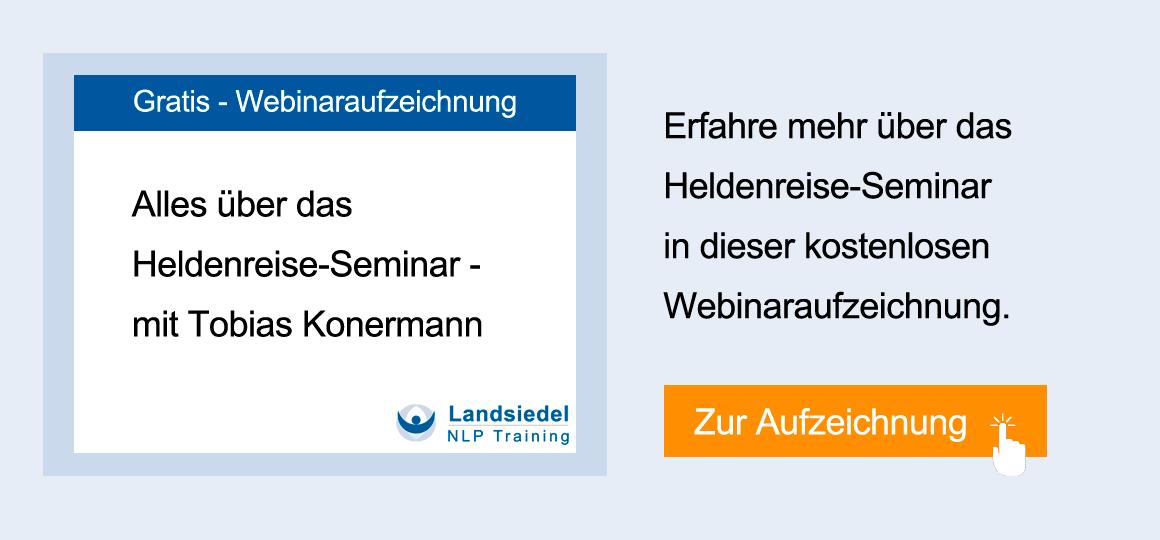 Webinar Heldenreise-Seminar