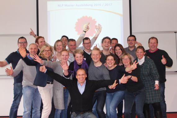 NLP Master-Ausbildung Gruppenbild