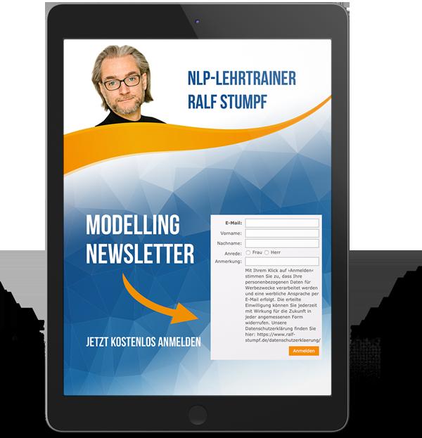 Newsletter über Modelling mit Ralf Stumpf