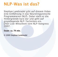 DVD-Beschreibung: NLP - Was ist das?