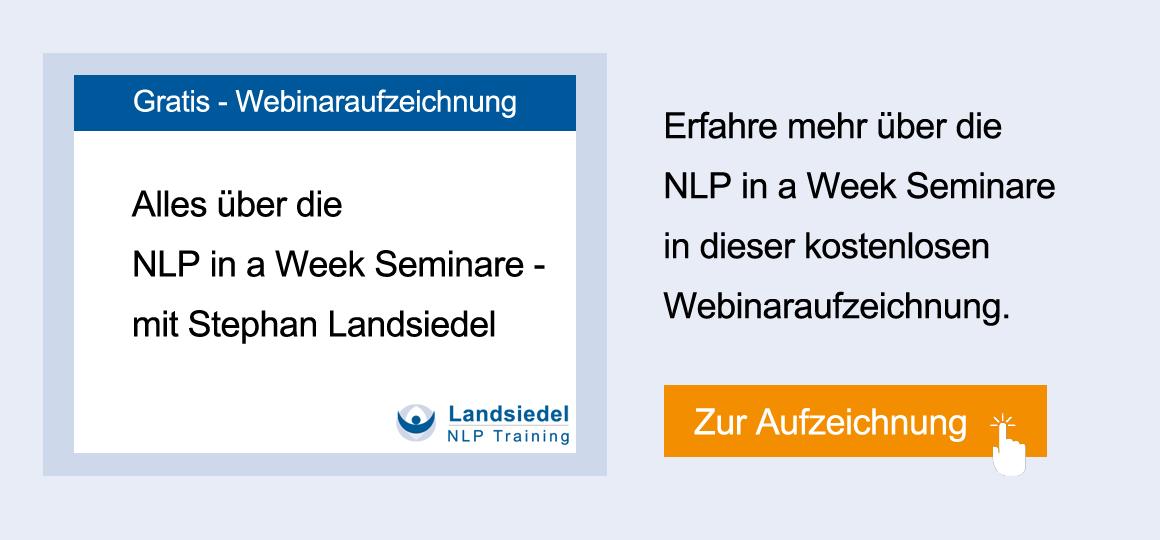 Webinar NLP in a Week