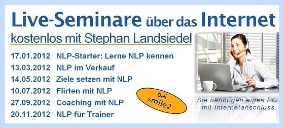 NLP Online Seminare