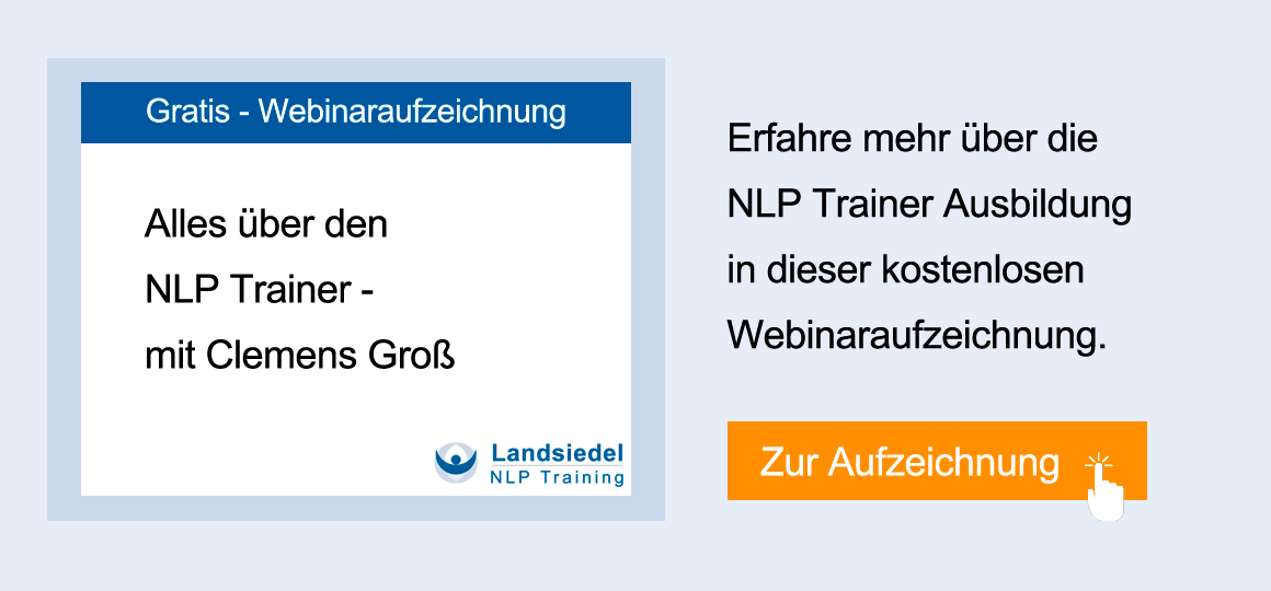 Webinar NLP Trainer