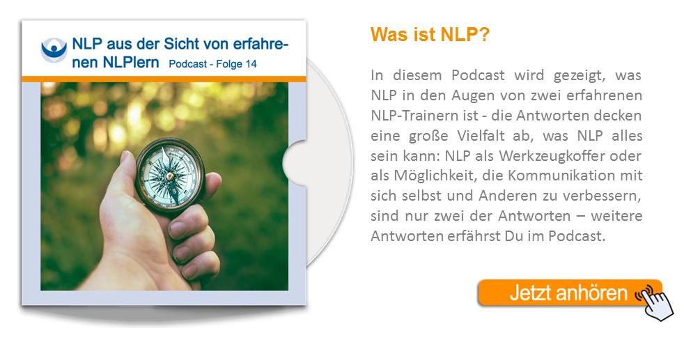 NLP Podcast 14: NLP aus der Sicht von erfahrenen NLPlern