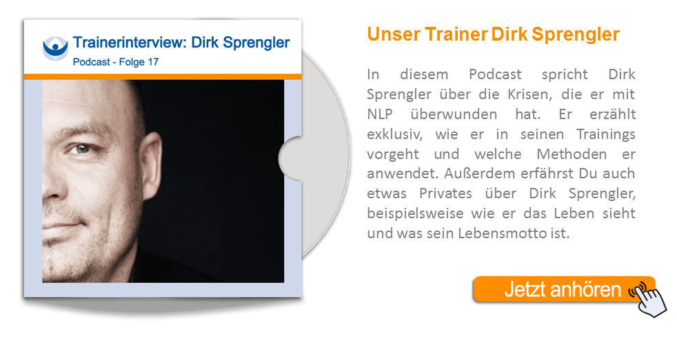 NLP Podcast 17: Trainerinterview mit Dirk Sprengler