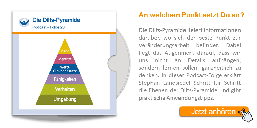NLP Podcast 28: Die Dilts-Pyramide