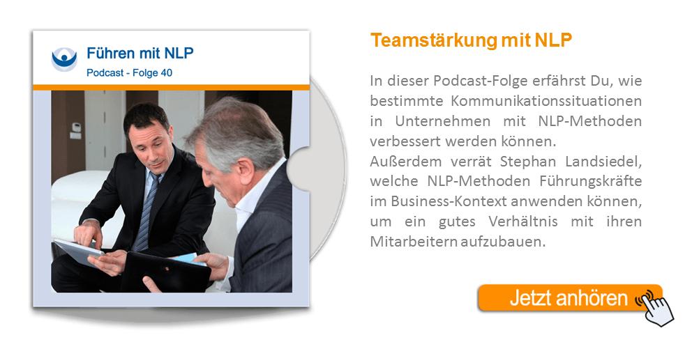 NLP Podcast 40: Führen mit NLP