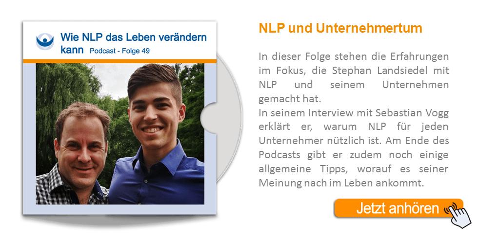 NLP Podcast 49: Wie NLP das Leben verändern kann