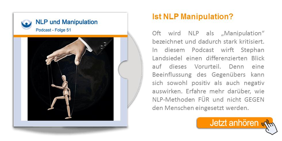 NLP Podcast 51: NLP und Manipulation von Stephan Landsiedel