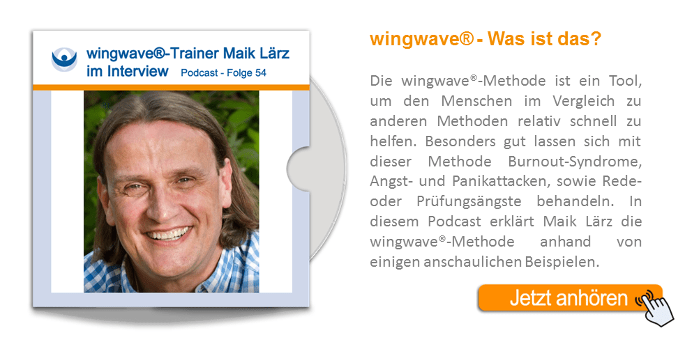 NLP Podcast 54: wingwave®-Trainer Maik Lärz im Interview