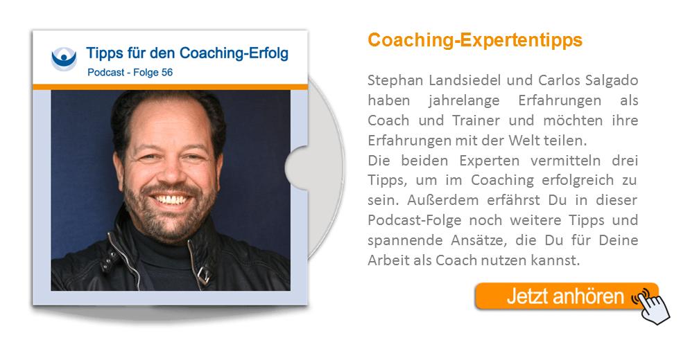NLP Podcast 56: Wertvolle Expertentipps zum Coaching-Erfolg