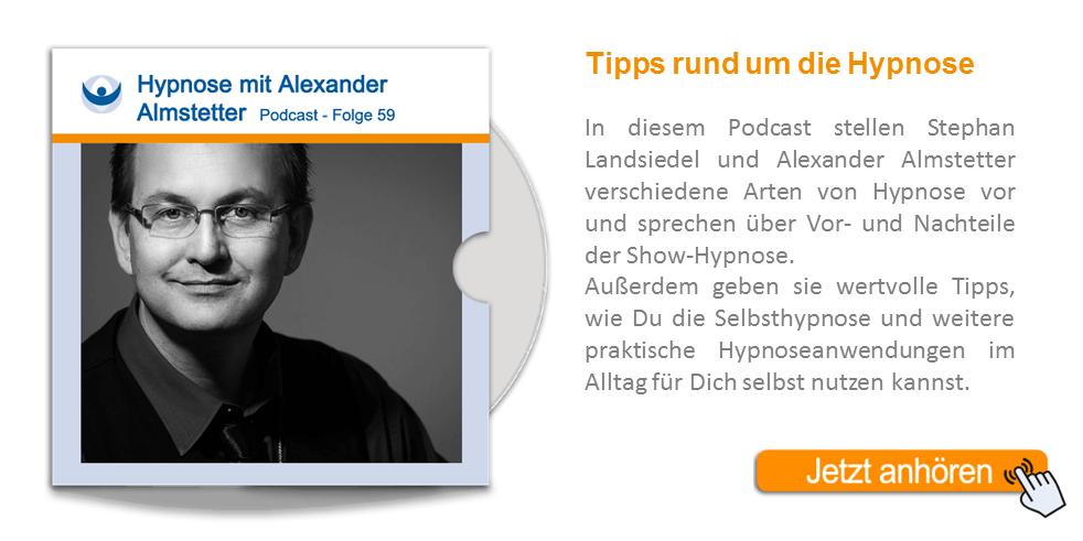 NLP Podcast 59: Hypnose mit Alexander Almstetter