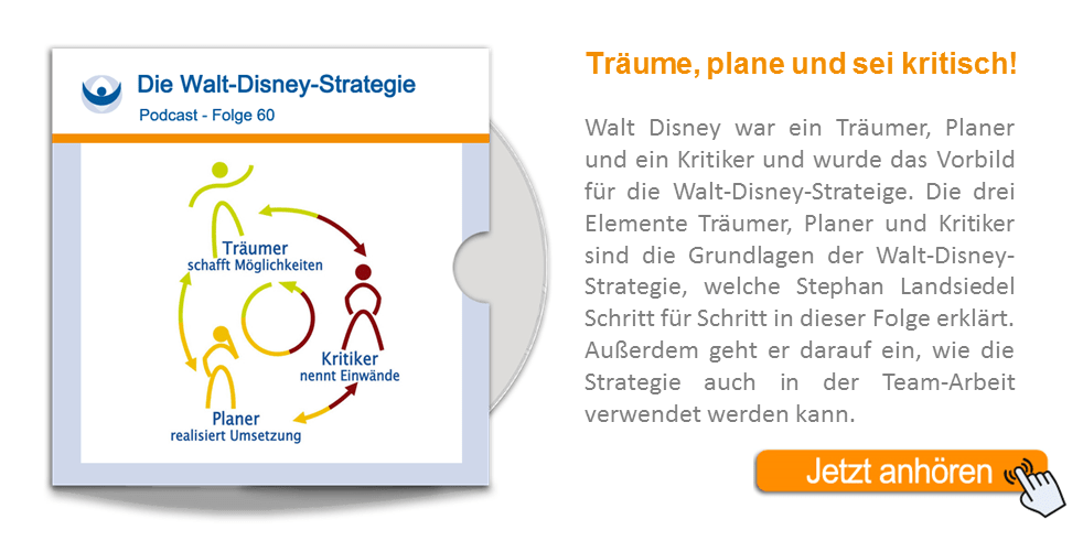NLP Podcast 60: Walt-Disney-Strategie