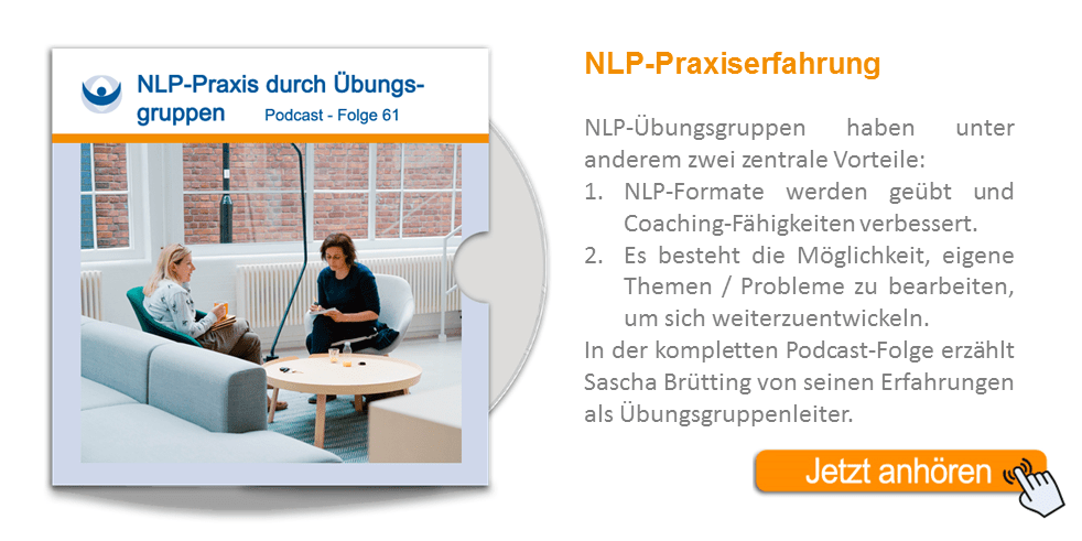NLP Podcast 61: Praxiserfahrung durch Übungsgruppen