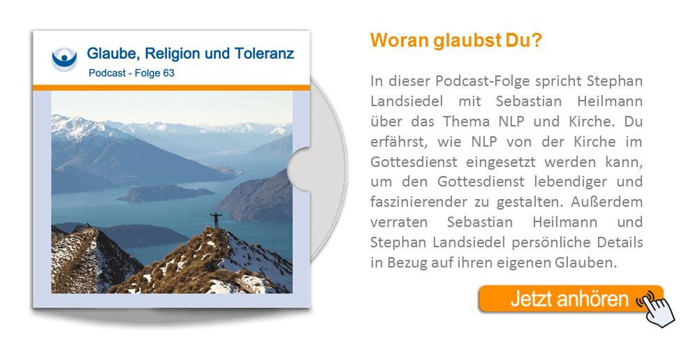 NLP Podcast 63: Glaube, Religion und Toleranz