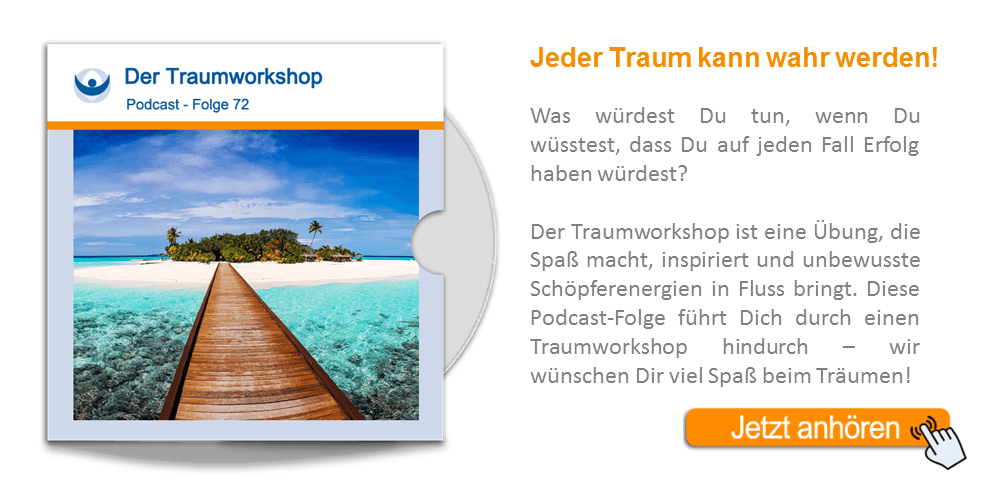 NLP Podcast 72: Dein Traum-Workshop