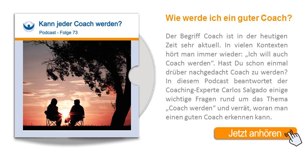 NLP Podcast 73: Kann jeder Coach werden?