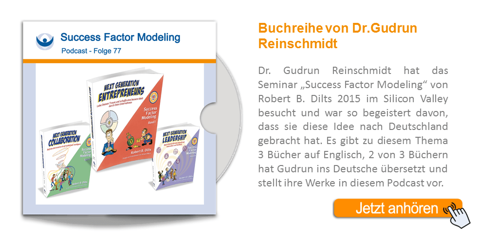 NLP Podcast 77: Dr. Gudrun Reinschmidt – Silicon Valley – Success Factor Modeling für Entrepreneure