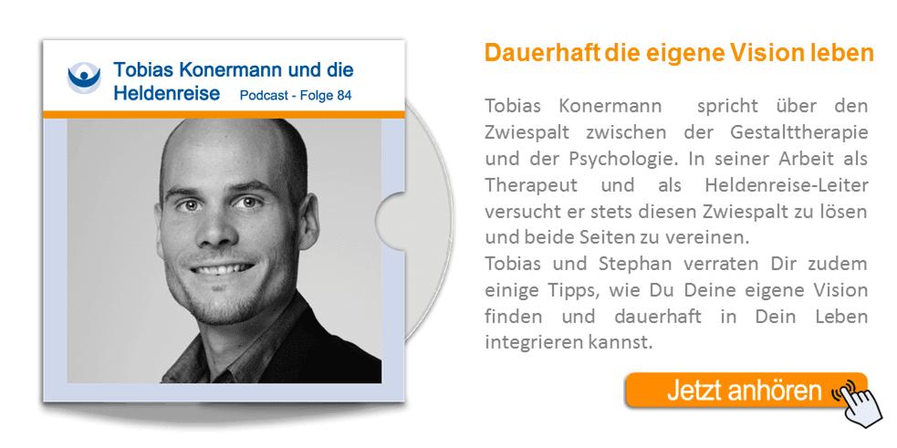 NLP Podcast 84: Gestalttherapie und Psychologie vereint – Tobias Konermann und die Heldenreise