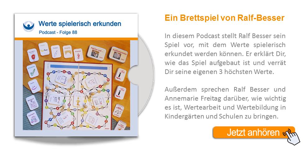 NLP Podcast 88: Werte spielerisch erkunden mit Ralf Besser