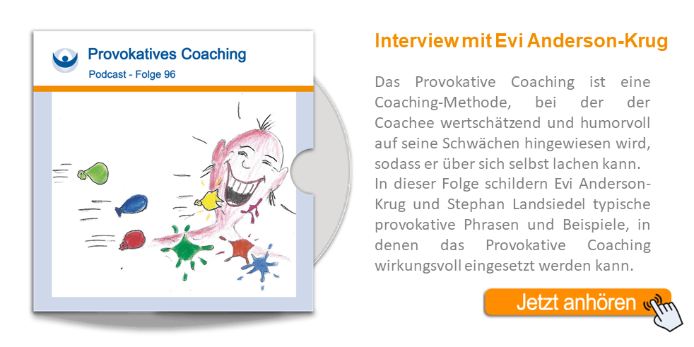 NLP Podcast 96: Provokatives Coaching mit Evi Anderson-Krug