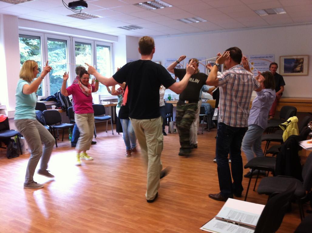 NLP Practitioner-Ausbildung Gruppenbild