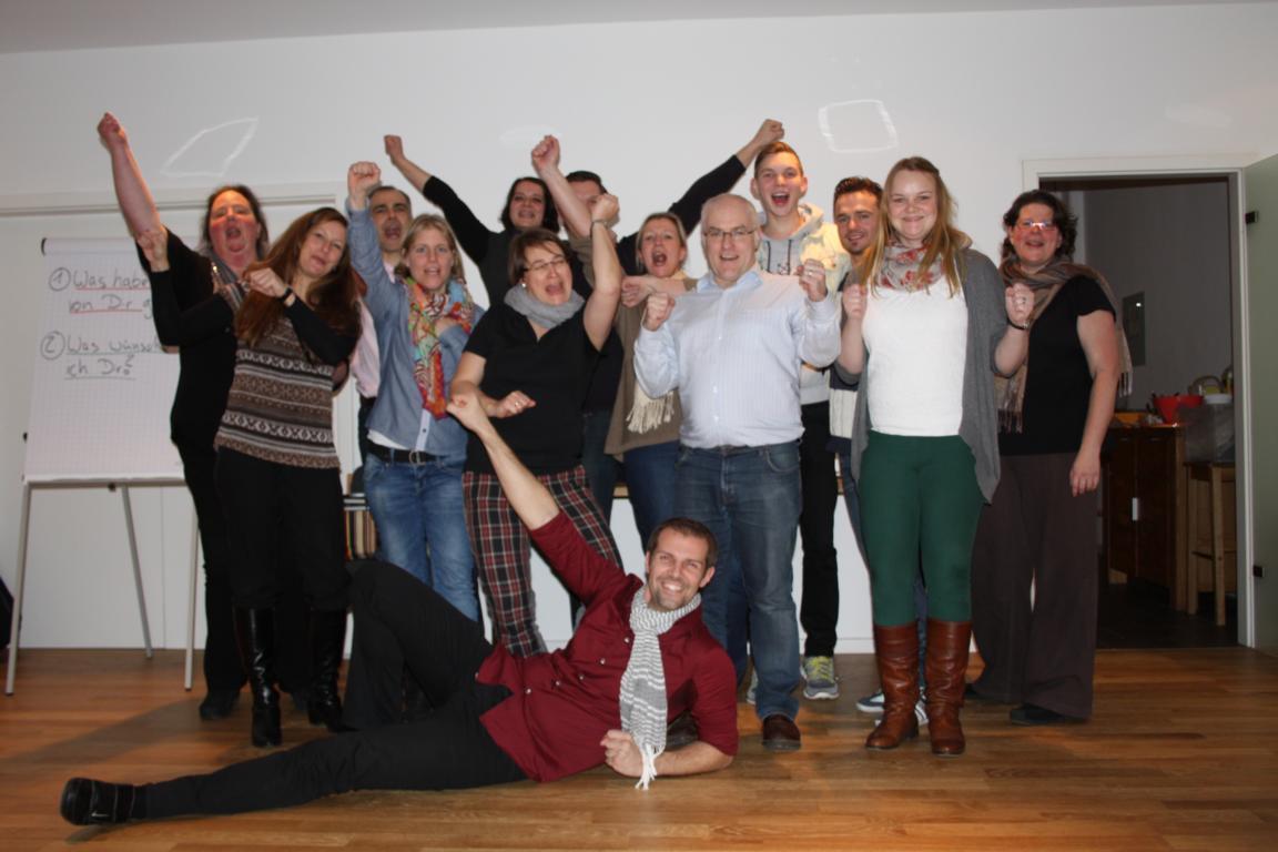 NLP Practitioner-Ausbildung Köln Gruppenbild
