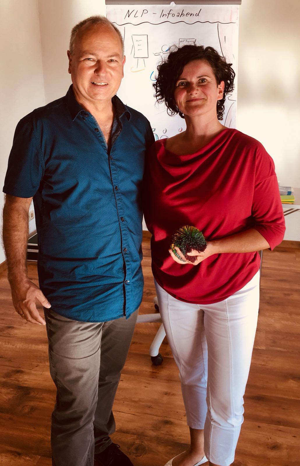 Stefan Heller und Annemarie
