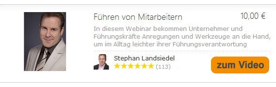 Der Online-Seminar-Link kann zur Zeit leider nicht angezeigt werden. Bitte wende Dich an info@landsiedel-seminare.de