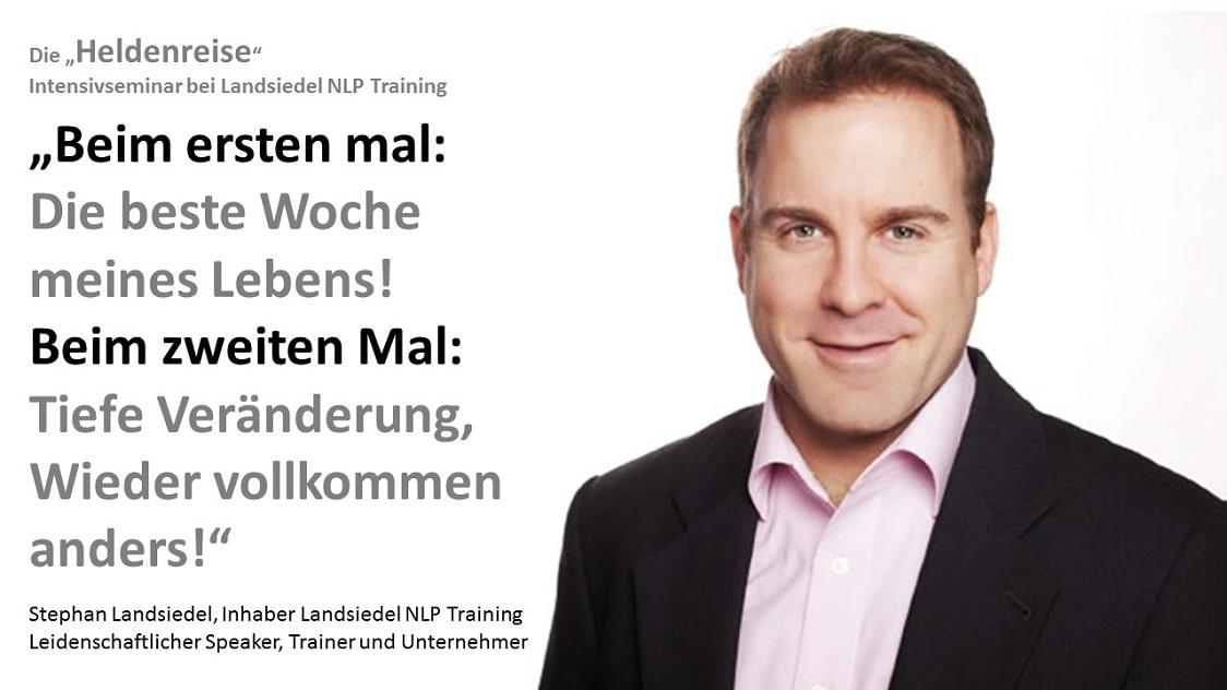 Teilnehmerstimme Stephan Landsiedel