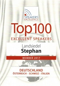 Top 100 Excellent Speakers