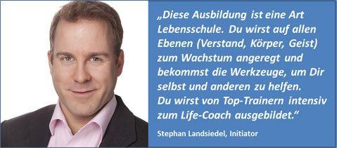 SL über Life-Coach-Ausbildung