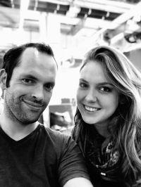 Robin Wiersbin und Steffi Maselli