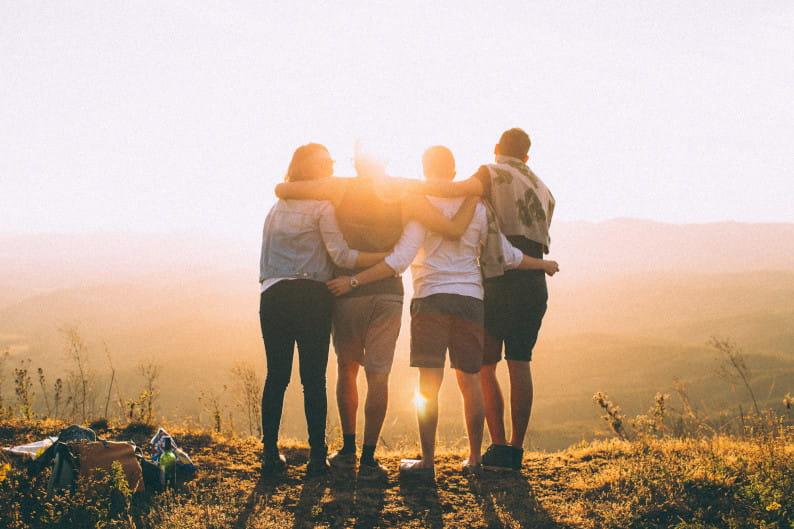 Freunde und Familie