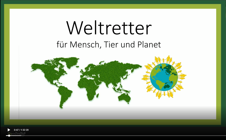 Erstes Weltretter Webinar
