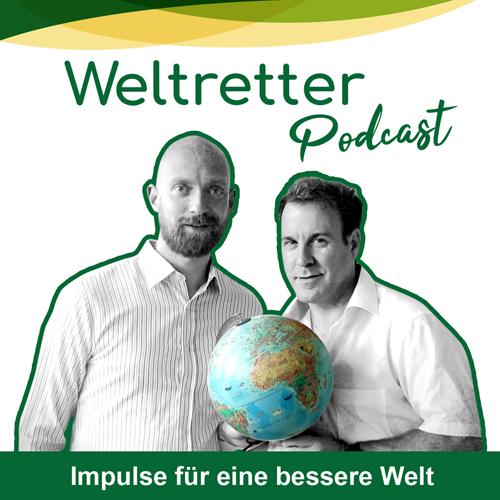 Weltretter-Podcast-Cover