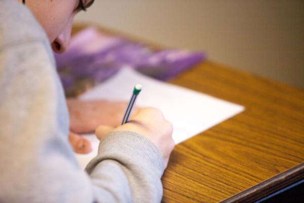 Prüfung schreiben
